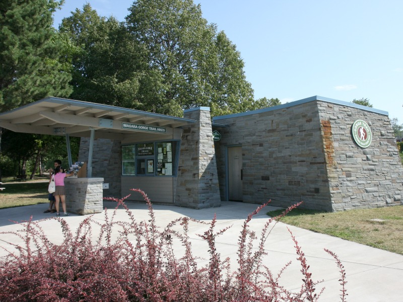 Niagara Gorge Trailhead Building